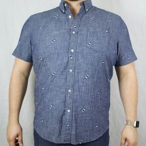 Sonoma Popsicle Casual Button Down Shirt